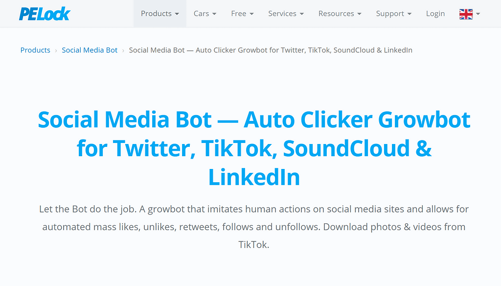 click bot example